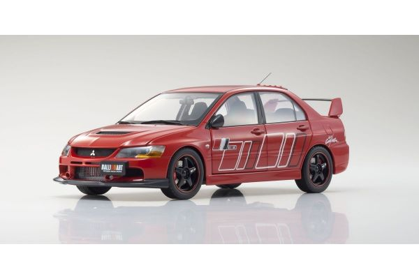 Super A 1/18scale Mitsubishi Lancer Evolution IX RALLIART(Red)  [No.KAB2002]