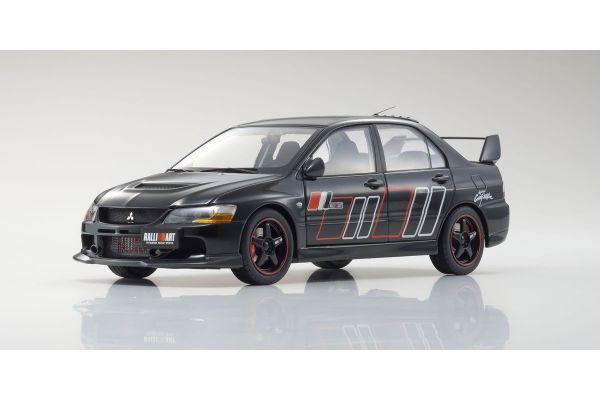Super A 1/18scale Mitsubishi Lancer Evolution IX RALLIART(Black)  [No.KAB2001]