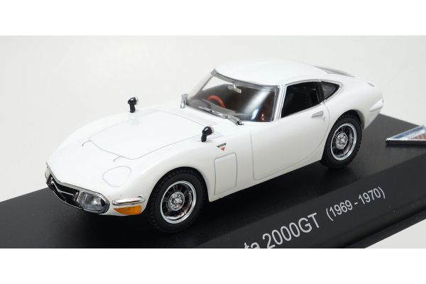 KYOSHO 1/43scale TOYOTA 2000GT White [No.KS03039W]