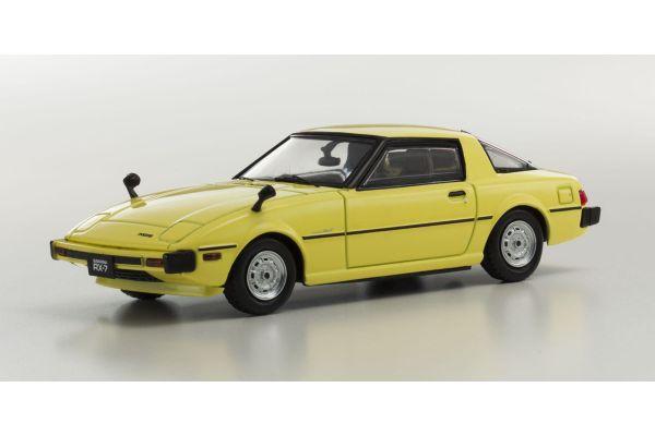 KYOSHO 1/43scale Mazda Savanna RX-7 (SA22C) Yellow [No.KS03281Y]