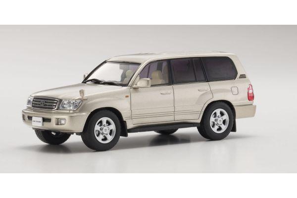 KYOSHO 1/43scale Toyota Land Cruiser 100 Gold Mica [No.KS03640GL]
