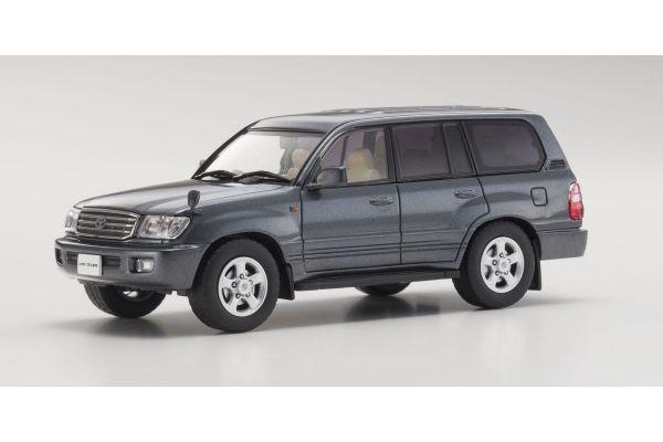 KYOSHO 1/43scale Toyota Land Cruiser 100 Gray Metallic [No.KS03640GR]