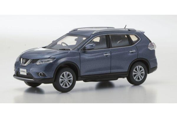 KYOSHO 1/43scale Nissan X-Ttrail Blue [No.KS03641BL]
