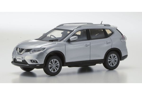 KYOSHO 1/43scale Nissan X-Ttrail Silver [No.KS03641S]