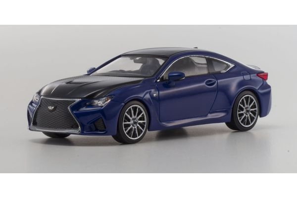 KYOSHO 1/43scale Lexus RC F Heat Blue [No.KS03653BL]