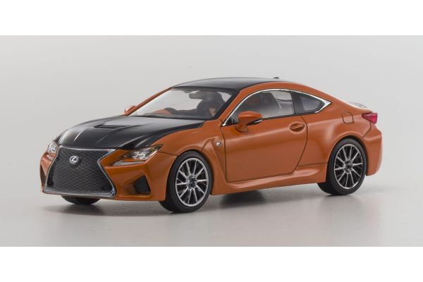 KYOSHO 1/43scale Lexus RC F Orange Crystal Shine [No.KS03653P]