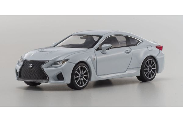KYOSHO 1/43scale Lexus RC F White Nova Glass Flake [No.KS03653W]