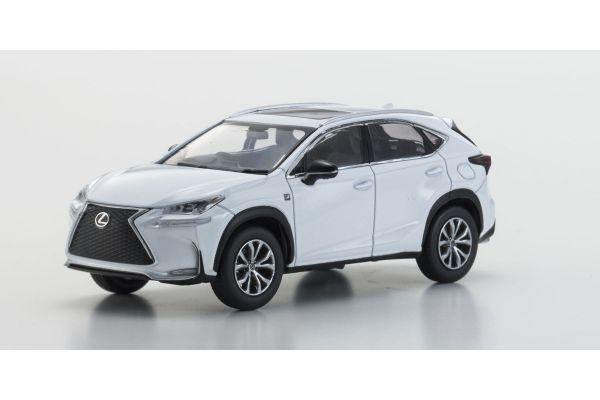 KYOSHO 1/43scale Lexus NX200t F SPORTS White [No.KS03654W]