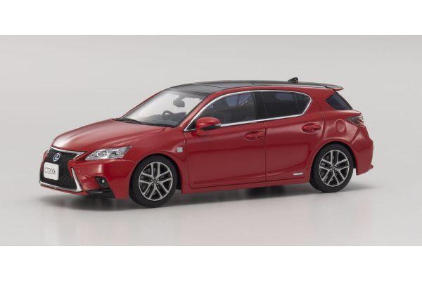 KYOSHO 1/43scale Lexus CT200h F Sport BK/Madder Red  [No.KS03656R2]