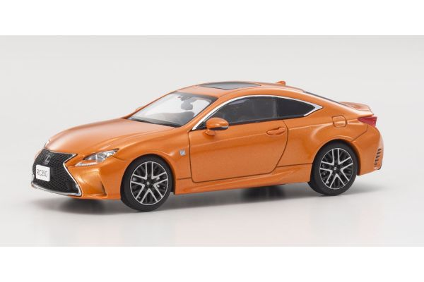 KYOSHO 1/43scale Lexus RC350 F Sport Lava Orange   [No.KS03657P]