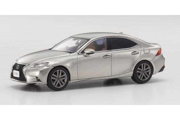 KYOSHO 1/43scale Lexus IS350 F Sport Sonic Titanium  [No.KS03658T]