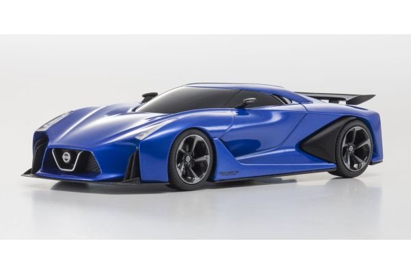 KYOSHO 1/43scale Nissan Concept 2020 Vision Gran Turismo Ink Blue [No.KS03660BL]