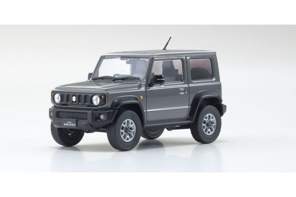 KYOSHO ORIGINAL 1/43scale Suzuki Jimny Sierra (Medium Gray)  [No.KS03678RHGY]