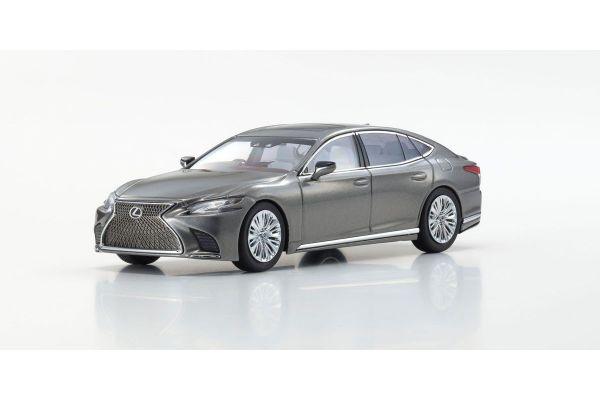 KYOSHO ORIGINAL 1/43scale Lexus LS500 Manganese Luster/ Gray  [No.KS03685M]