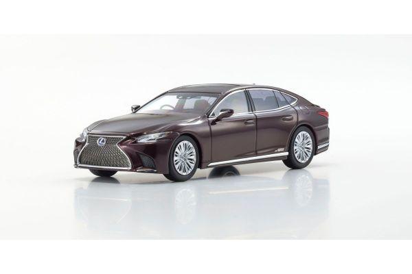 KYOSHO ORIGINAL 1/43scale Lexus LS500h (Sonic Agate / Deep Red)  [No.KS03686SA]