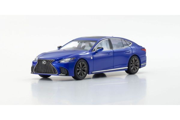 KYOSHO ORIGINAL 1/43scale Lexus LS500 F SPORT (Heat Blue Contrast Layering / Blue)  [No.KS03687BL]