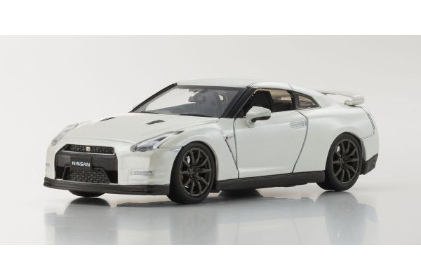 KYOSHO 1/43scale NISSAN GT-R R35 2014 Brilliant White Pearl [No.KS03744BW]