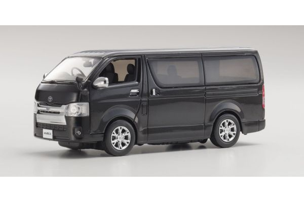 KYOSHO 1/43scale Toyota Hiace Super GL 2014 Black [No.KS03861BK]