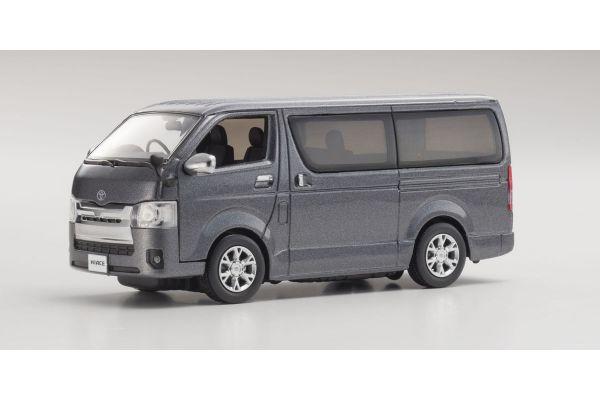 KYOSHO 1/43scale Toyota Hiace Super GL 2014 Gray [No.KS03861GR]