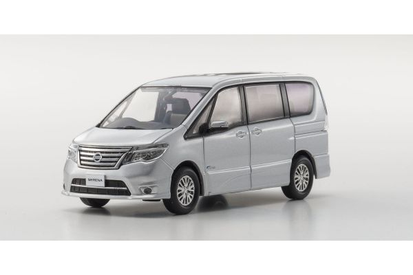 KYOSHO 1/43scale NISSAN SERENA Highway Star G 2014 Silver [No.KS03871BS]