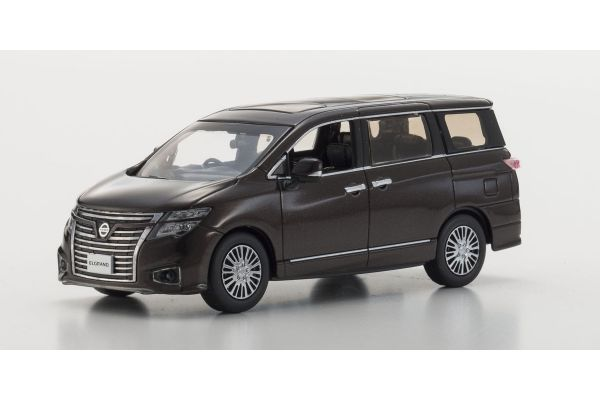 KYOSHO 1/43scale Nissan Elgrand Highway star 2014 Imperial Amber [No.KS03881AB]