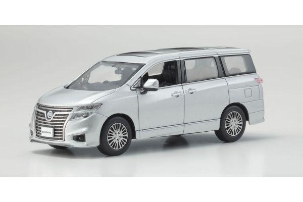 KYOSHO 1/43scale Nissan Elgrand Highway Star Brilliant Silver Metallic  [No.KS03881BS]