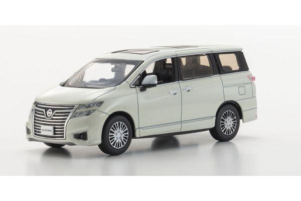 KYOSHO 1/43scale Nissan Elgrand Highway star 2014 Brilliant White [No.KS03881BW]