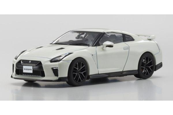 KYOSHO 1/43scale Nissan GT-R 2017 White Pearl  [No.KS03893W]
