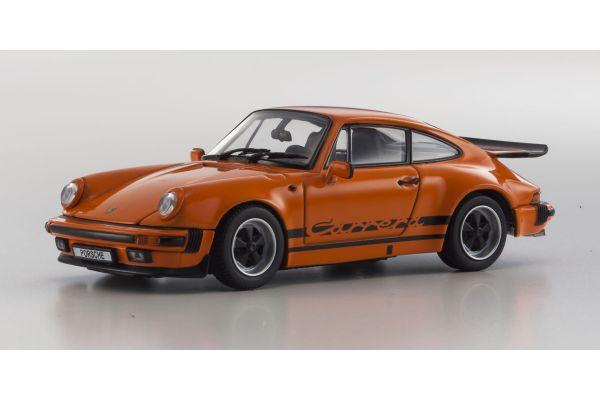 KYOSHO 1/43scale Porsche 911 Carrera 3.2 Orange [No.KS05522P]