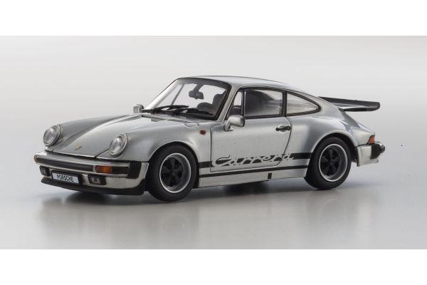 KYOSHO 1/43scale Porsche 911 Carrera 3.2 Silver [No.KS05522S]