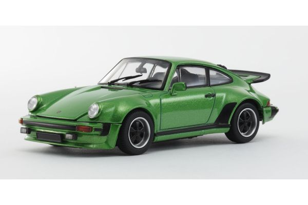 KYOSHO 1/43scale Porsche 911 Turbo 1975 Green [No.KS05524G]