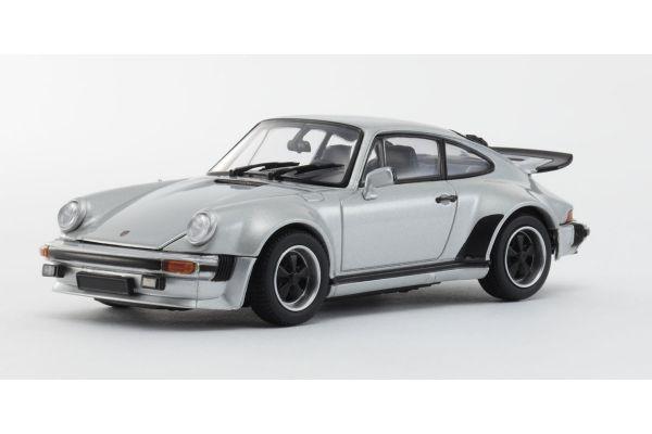 KYOSHO 1/43scale Porsche 911 Turbo 1975 Silver [No.KS05524S]