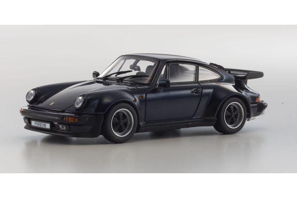KYOSHO 1/43scale Porsche 911 Turbo 3.3 Dark Blue [No.KS05525DB]