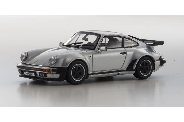 KYOSHO 1/43scale Porsche 911 Turbo 3.3 Silver [No.KS05525S]