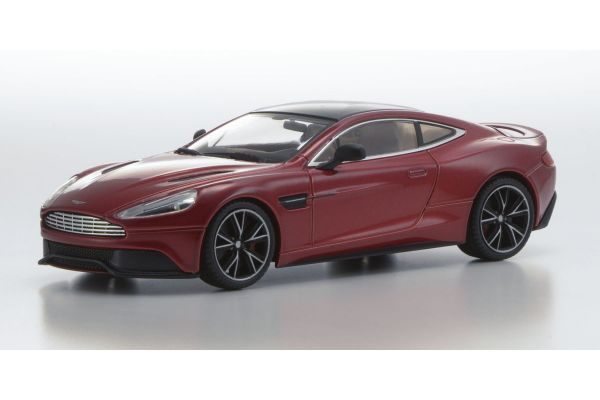 KYOSHO 1/43scale Aston Martin Vanquish Volcano Red [No.KS05581VR]