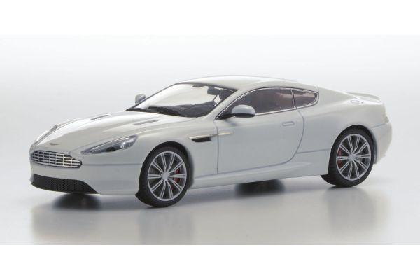 KYOSHO 1/43scale Aston Martin DB9 Stratus White [No.KS05591SW]