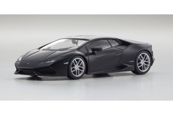 KYOSHO 1/43scale Lamborghini Huracan LP610-4 Matt Black [No.KS05600MBK]
