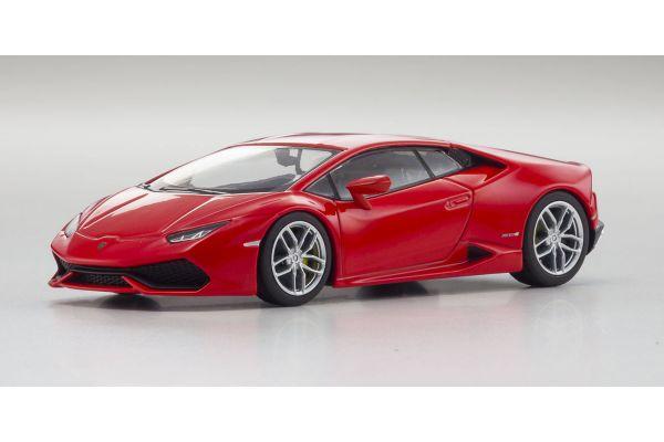 KYOSHO 1/43scale Lamborghini Huracan LP610-4 Red Matallic [No.KS05600RM]