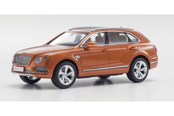 KYOSHO 1/43scale Bentley Bentayga Bentayga Orange [No.KS05621P]