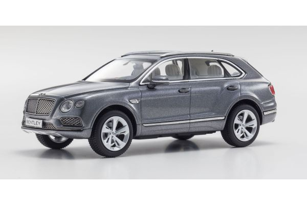 KYOSHO 1/43scale Bentley Bentayga Tungsten [No.KS05621TG]