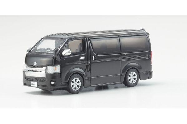 KYOSHO 1/64scale Toyota Hiace 2014 Black  [No.KS06663BK]