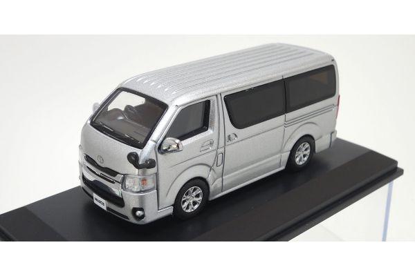 KYOSHO 1/64scale Toyota Hiace 2014 Silver [No.KS06663S]