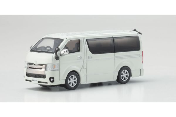 KYOSHO 1/64scale Toyota Hiace 2014 White  [No.KS06663W]