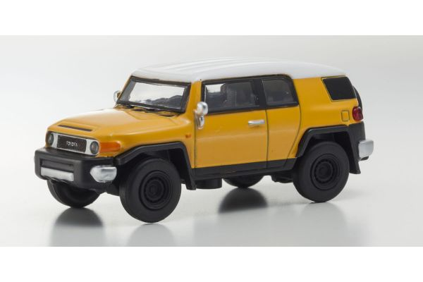 KYOSHO 1/64scale Toyota FJ Cruiser Yellow [No.KS07042A13]