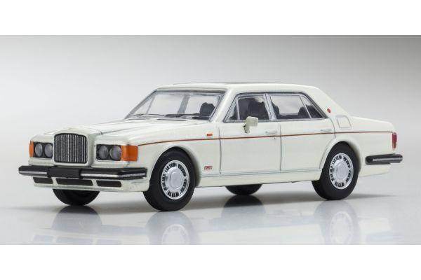 KYOSHO 1/64scale Bentley TurboR White Pearl [No.KS07043A1]