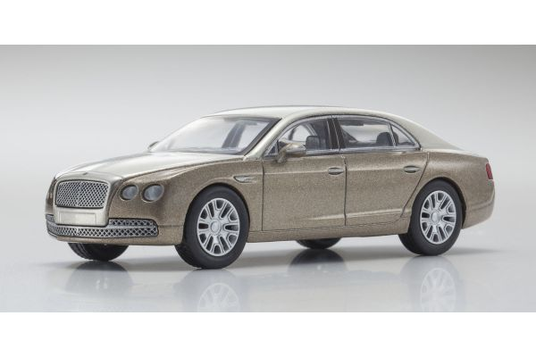 KYOSHO 1/64scale Bentley Flying Spur Gold/LightGold [No.KS07043A13]