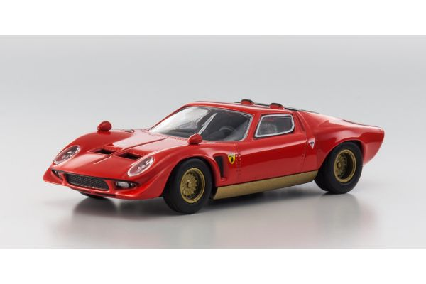 KYOSHO 1/64scale Lamborghini JOTA Red [No.KS07045A1]