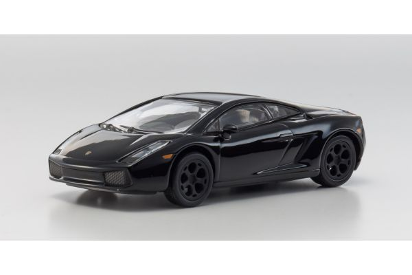 KYOSHO 1/64scale Lamborghini Gallardo Black [No.KS07045A12]
