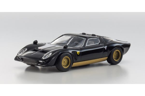 KYOSHO 1/64scale Lamborghini JOTA Black [No.KS07045A2]
