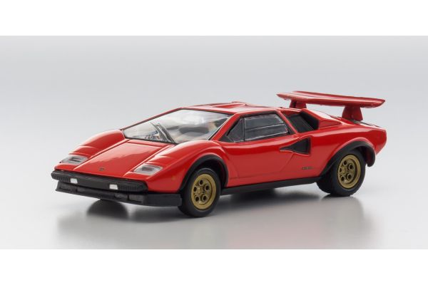 KYOSHO 1/64scale Lamborghini Countach LP500S Red [No.KS07045A5]